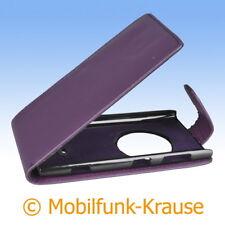 Flip Case Etui Handytasche Tasche Hülle f. Nokia Lumia 1020 (Violett)