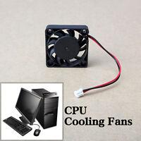 12V 2 Pin 40mm Mini 4cm DC Brushless Computer Cooler Cooling Fan PC Black