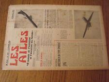 "14µ?  Revue Les Ailes ""Monde Aviation"" n°1667 Hydravion Martin Nord 2508"