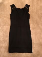 Love Ady Little Black Dress Sleeveless, XS, Zipper