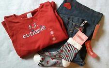 3PC Gymboree Bon Voyage Jeans, Top, and Socks Size 10 NWT