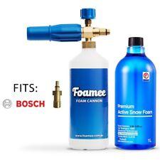 Foamee Snow Foam Lance Cannon Gun Detergent Bundle - Bosch AQT & AR Blue Clean