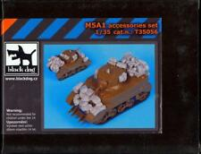 Blackdog Models 1/35 M5A1 STUART TANK Resin Detail Set