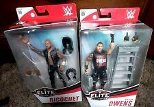 2 WWE Elites Kevin Owens & Ricochet Figures