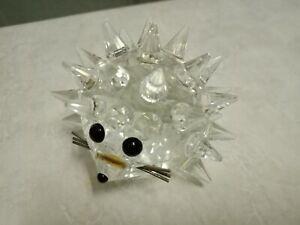 Swarovski Crystal Vintage Large Hedgehog Wire Whiskers | No box / Figurine