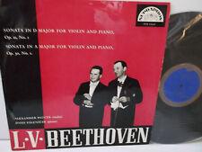 SUB 10061 Beethoven Violin & Piano Sonatas Alexander Plocek & Josef Palenicek