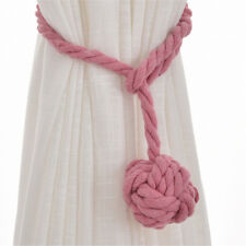 Multi-colors Curtain Tiebacks Braided Flower Ball Tie Backs Home Decorations