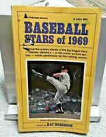 Baseball Stars of 1969 Book Denny McLain Detroit Tigers cover