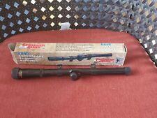 Vintage Crosman 4×15 rifle scope in original Box untested