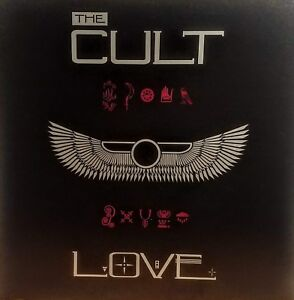 THE CULT 'Love'  Album/ Poster /Flat Suitable for Framing  MINT! 1985