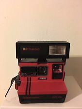 Baisse prix! Polaroid Supercolor 645Cl Rouge, Testé fonctionne - Tres bon etat