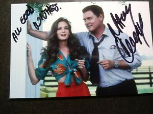 MARY CROSBY Authentic Hand Signed Autograph 4X6 Photo - BEAUTIFUL ACTRESS-DALLAS