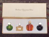 Parfums Christian Dior Set Vintage RARE SET, PARFUM MINIATURES - See Photos