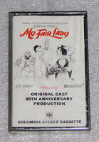 My Fair Lady 20th Anniverary Original Cast Cassette Tape 1976 CBS Columbia