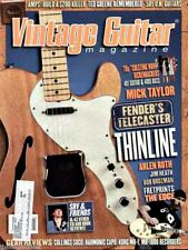 Vintage Guitar Magazine April 2008 Fender Telecaster Thinline, Ted Greene