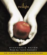 Twilight Saga: Twilight Bk. 1 by Stephenie Meyer Audiobook on CD Unabridged NEW