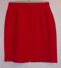 """New Ladies Cherry red lined  Skirt W26"""" L20"""""""