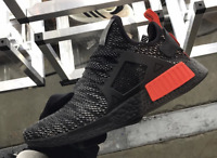 ADIDAS NMD XR1 RUNNER BLACK RED BRED ALL SIZES UK 6 7 8 9 10 11 12 NEW