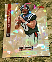 Eli Manning 2015 Panini Contenders Draft Picks Cracked Ice #40 Rebels 21/23