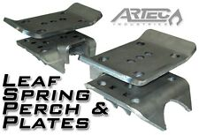 """ARTEC Leaf Spring Perch & Plates fits 3.25"""" - 3.375"""" Axle Tubes Universal BR1034"""