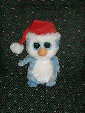 Ty Beanie Boo ~ FAIRBANKS ~ BLUE CHRISTMAS PENGUIN ~2012~ MWMT~ RETIRED
