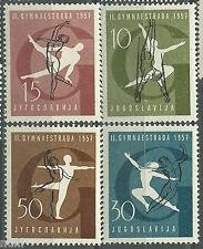 Yugoslavia Jugoslavija Mi# 823/826 ** MNH Set. Sports / Deportes