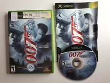 James Bond 007 Everything Or Nothing Xbox Original CIB COMPLETE - FREE SHIPPING!