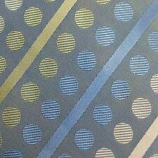 BCBG New men's attitude necktie, 100% silk, lite blue with dots and stripes A65