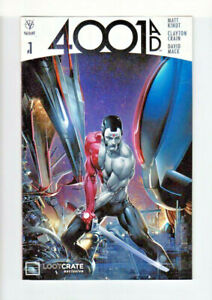 4001 AD #1 Valiant Graphic Novel Lootcrate Exclusive May 2016 Kindt- Crain- Mack