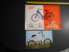 catalogue  pièce détachées  vélomoteur PEUGEOT 101 102 moto mobylette vélo