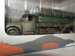 Camion CITROEN U55 Militaire kaki ODEON 1/43