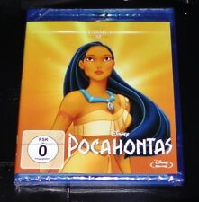 POCAHONTAS DISNEY CLASSICS 32 WALT DISNEY FILM BLU RAY NEU & OVP