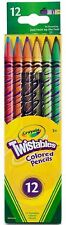 Crayola Twistables Colored Pencils, Assorted Colors 12 ea (Pack of 2)