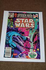 Star Wars Marvel Comics # 54-Vintage Lego and Spiderman Ad