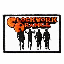 Clockwork Orange (Iron on) Embroidery Applique Patch Sew Iron Badge