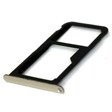 For Huawei P9 Lite 2017 Replacement SIM and SD Card Tray Black Gold OEM