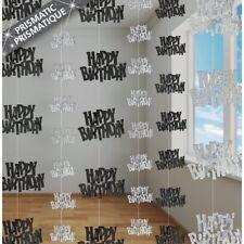 Happy Birthday Foil String Decorations NEW