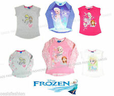 Disney Girls' 100% Cotton T-Shirts & Tops (2-16 Years)