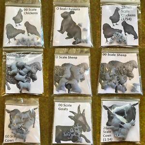 S-P Model Animals - Resin Miniature Animal Railways Wargames 0 gauge oo/ho 1/76