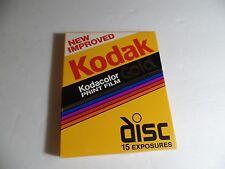 New Improved Kodak Kodacolor Gold Disc Film 15 Exposures - Exp. 05/1992