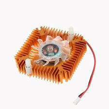 12V 2Pin 55mm Aluminum Heatsink Computer VGA GPU Video Card Cooling Fan