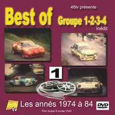 DVD Best of Rallye Historic Gr.1 2 3 4 1974 - 1984 Volume 1 Monte etc 60m 48TV