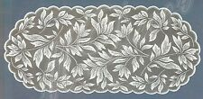 "Ovale, Bianco, Pizzo, Table Runner Nuovo (55 x 120 cm) (22 ""X 47""), REGALO PERFETTO"