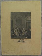 Nicolas De Launay gravure XVIIIème engraving etching stampa radierung grabado