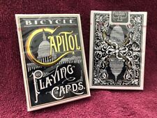 1 DECK Bicycle Capitol playing cards FREE USA SHIPPING!