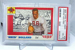 1955 Topps All-American Collegiate Jerome 'Brud' Holland #89 PSA 4 Cornell