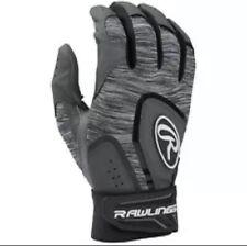 Rawlings Youth Medium 5150 Baseball Batting Gloves - Black (NEW)