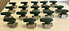 Swagelok Stainless SS-8P6T Valves 18 Count, Used