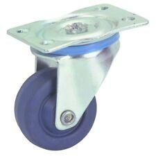 Central Machinery 1-5/8 in. Rubber Light Duty Swivel Caster Wheel