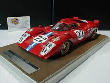 Tecnomodel TM18-35E # Ferrari 312P No.22 24h Sebring 1969 Parkes - Person 1:18